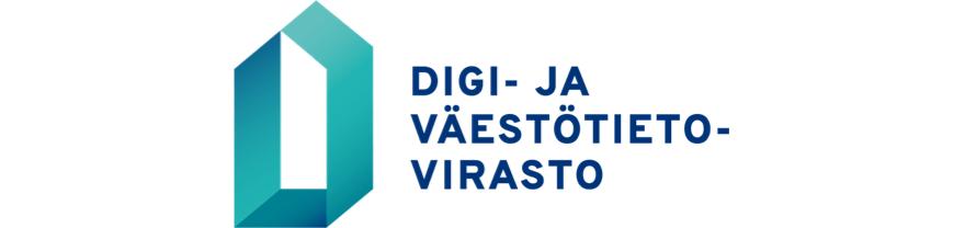 Digi- ja väestötietovirasto logo