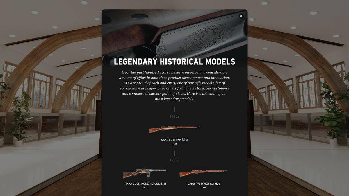 Sakon legendaariset historiaaliset asemallit aikajanalla